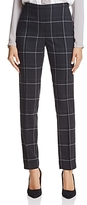 T Tahari Karis Windowpane Plaid Pants
