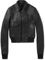 Rick Owens - Textured-leather Jacket