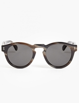 Illesteva Marble 'leonard' Acetate Sunglasses