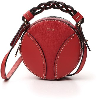 Chloé Mini Daria Round Crossbody Bag