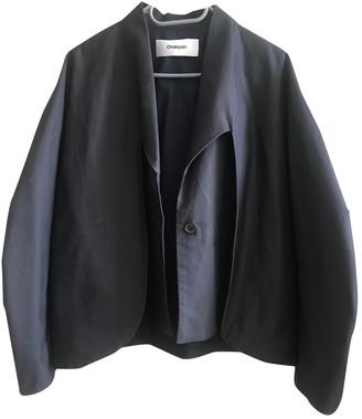 Chalayan Navy Cotton Jackets