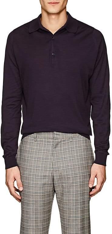 John Smedley Men's Bradwell Cotton Polo Shirt