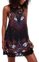Free People Women's Who'S Sorry Now Print Slipdress