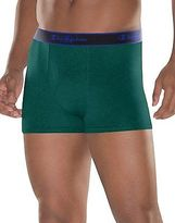 Champion Men's Underwear Performance Cotton Short Boxer Brief 3-Pack