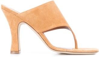 Paris Texas 100mm Thong Strap Sandals