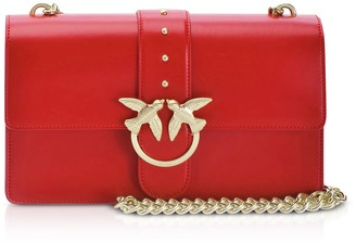Pinko Red Love Classic Simply Shoulder Bag