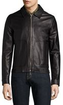 Officine Generale Clement Leather Jacket
