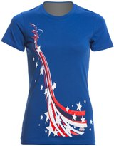 USA Swimming Women's All Stars & Stripes Crew Neck TShirt - 8147079