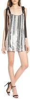 NBD Women's Suri Sequin Stripe Minidress