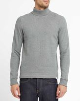 Norse Projects Grey Bue Brushed Cotton Polo-Neck Sweatshirt