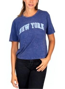 Rebellious One Juniors' New York Graphic T-Shirt