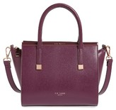 Ted Baker Tabatha Leather Satchel - Purple
