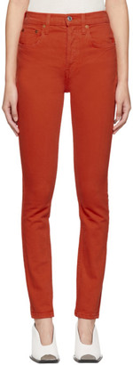 RE/DONE Red Originals High-Rise Jeans