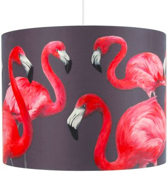 Flamingos Flock Of Lampshade - Large