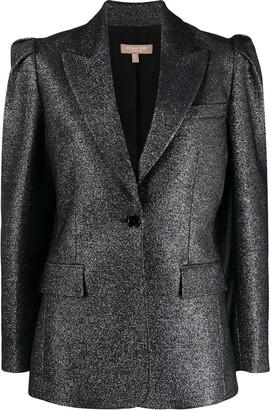 Michael Kors pleated-shoulder blazer