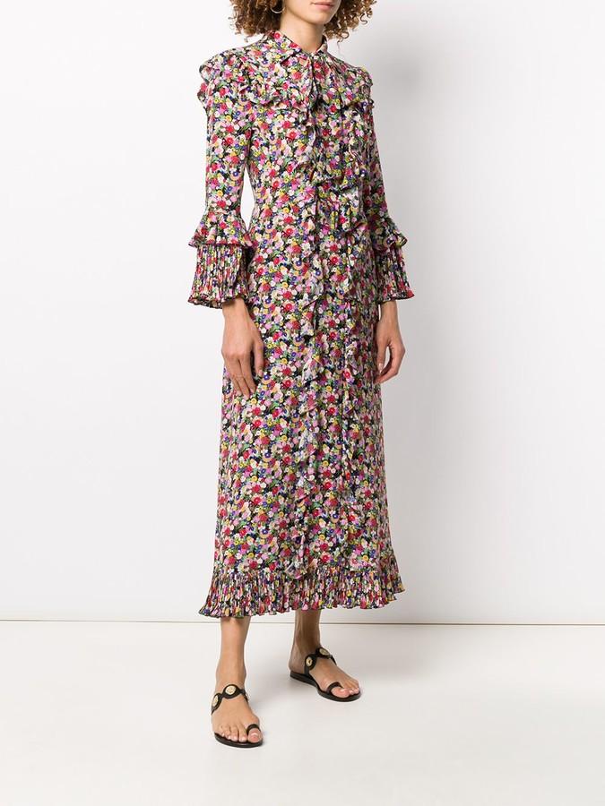 Thumbnail for your product : La DoubleJ Ruffled Maxi Dress