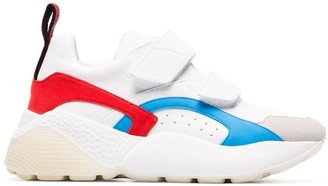 Stella McCartney Eclypse 45 chunky touch strap sneakers