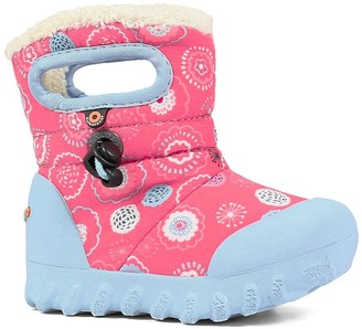 Bogs B-MOC Bullseye Insulated Faux Fur Waterproof Boot (Toddler & Little Kid)