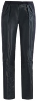 Preen by Thornton Bregazzi Fold coated panel trousers