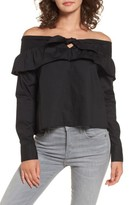 The Fifth Label Women's Paper Planes Off The Shoulder Top