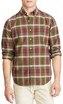 Polo Ralph Lauren Madras Plaid Classic Fit Button-Down Shirt
