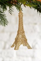 Urban Outfitters Eiffel Tower Glitter Ornament