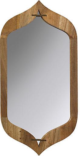 Jamie Young Jasmine Wall Mirror - Natural/Brass