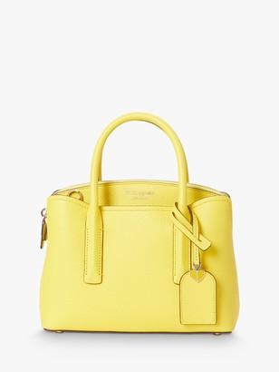 Kate Spade Margaux Leather Mini Satchel, Light Bulb Yellow