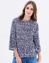 Mng Ball-Knit Sweater
