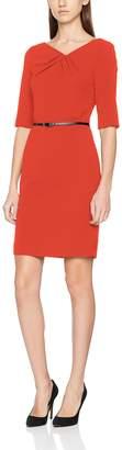 S'Oliver Black Label BLACK LABEL Women's 11.802.82.7440 Dress Flame red 3060 10