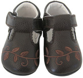 Jack & Lily Scalloped T-Strap Shoe (Baby)