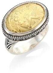 Konstantino Gaia Oval Ring