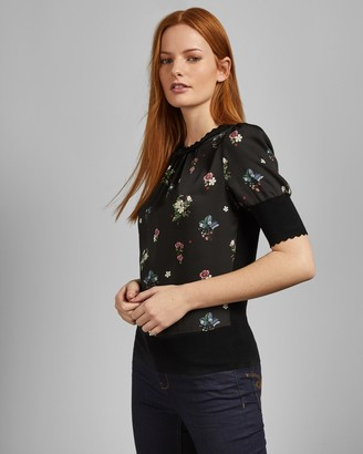 Ted Baker ADDYLYN Oracle short sleeved knit