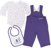 Carhartt Dahlia Purple Overalls Set - Infant