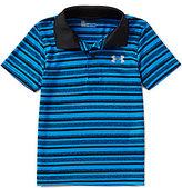 Under Armour Little Boys 4-7 Striped Match Play Polo Shirt
