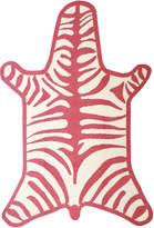 Jonathan Adler Zebra Peruvian Llama Flat Weave Rug