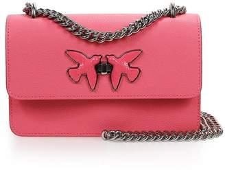 Pinko Pink Free Flight Mini C Crossbody Bag