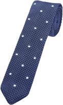 Oxford Silk Knit Tie Spot