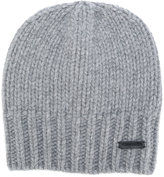 DSQUARED2 ribbed beanie - men - Wool - One Size