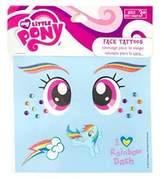 My Little Pony Rainbow Dash Glittery Temporary Face Tattoos by