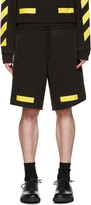 Off-White Black & Yellow Arrows Shorts