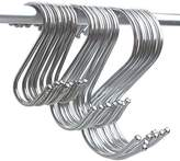 Magnolian S Shaped Hooks Hanging Hooks Hangers for Bathroom, Bedroom, Office and Kitchen ( 24 Pack )