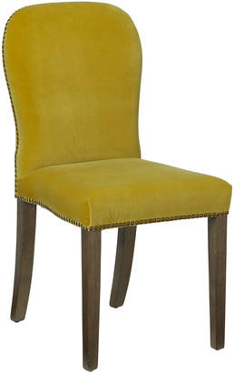 OKA Stafford Velvet Dining Chair - Alchemilla