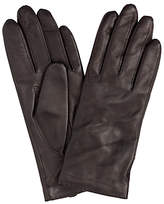 John Lewis Cashmere Lined Leather Gloves