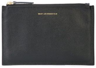 WANT Les Essentiels Lawrence zip pouch