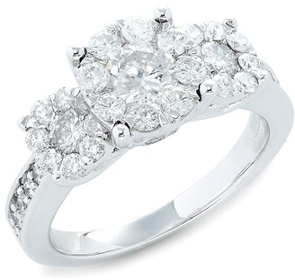 Effy 14K White Gold & Diamond Ring
