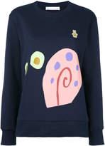 Peter Jensen snail sweatshirt
