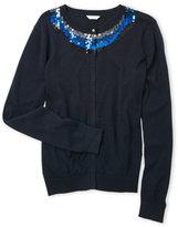Little Marc Jacobs Girls 7-16) Sequin Embellished Cardigan