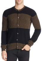 Pringle Wool Vintage Stripe Cardigan Sweater