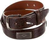 Ralph Lauren Alligator Waist Belt